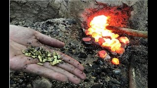 Download Primitive Technology: building a Metal Furnace Copper (Cu) Video
