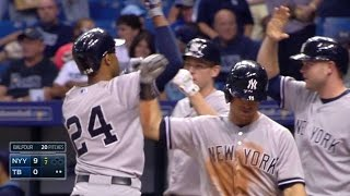Download NYY@TB: Young's grand slam gives Yankees a 9-0 lead Video
