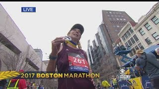 Download Kathrine Switzer Finishes Boston Marathon 50 Years After Being First Woman To Run Video