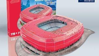 Download ″Allianz Arena″ del FC Bayern München | Nanostad - Puzzle 3D Video