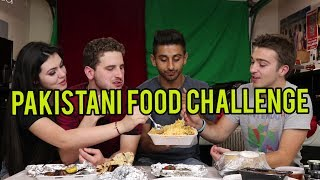 Download EATING PAKISTANI FOOD FOR THE FIRST TIME ft. REACT CAST Video