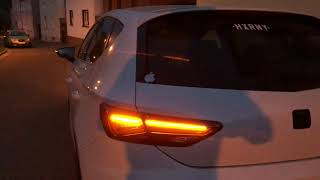 NEW SEAT Leon Facelift LED Taillights Retrofit Free Download Video