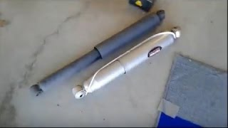 Download Replace rear shocks on Ford F150 truck Video