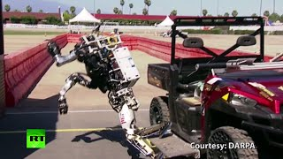 Download At least they tried: Robot 'epic fails' compilation from DARPA Robotics Challenge Video