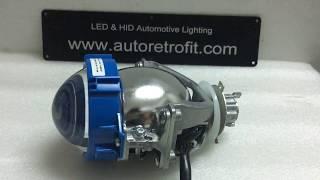 Download Universal Bi-LED 3.0'' Projector Lens, 35Watt Low Beam & 40Watt High Beam Video