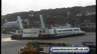 Download Dover to Calais SRN4 Hoverspeed Hovercraft Last Day Flights 2/4 (Princess Anne, Princess Margaret) Video