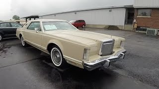 Download 1978 Lincoln Continental Mark V Designer Series Cartier Edition|Walk-Around Video|In-Depth Review Video