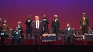 Download Donald Trump audio-animatronic figure at the new Hall of Presidents Video