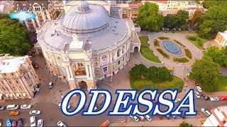 Download Odessa (Ukraine), city on the sea 2018 summer filming drone Ultra HD 4K Video