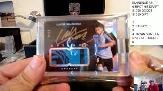Download 2018 PANINI EMINENCE SOCCER PICK YOUR PLAYER CASE/BOX BREAK #20 Video