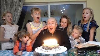 Download Happy Birthday Daddy! Your Cake is on FIRE! Video