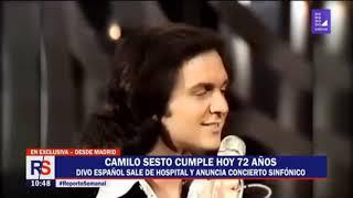 Download Camilo Sesto Ultimo Cumpleaños En vida . Video