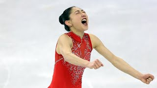 Download Twitter goes wild after Mirai Nagasu lands triple axel, makes history Video