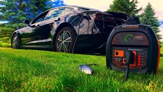 Download Generator Charging a Tesla? Generac VS Honda Video