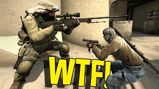Download CS:GO FUNNY MOMENTS - WTF DUMBEST SNIPER EVER, KNIFE TROLLING & MORE Video