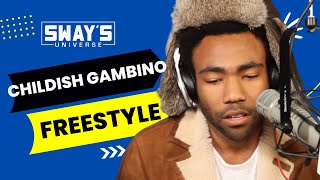 Download Childish Gambino Spits Dope Freestyle Over Drake's ″Pound Cake″ on Sway in the Morning Video