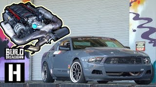 Download Chevy Powered Ford Mustang Wrecks the Yard Video