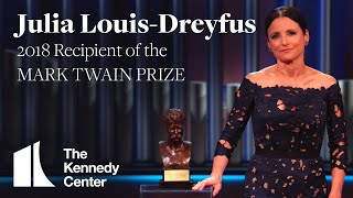 Download Julia Louis-Dreyfus Acceptance Speech | 2018 Mark Twain Prize Video