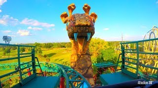 Download [4K] Cobra - Spinning Roller Coaster POV - Busch Gardens Tampa Bay Video