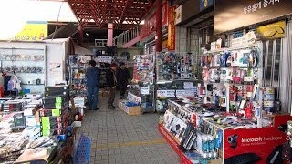 Download Second Hand Electronics For Sale At Yongsan Flea Market In Seoul, South Korea Video