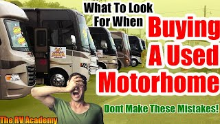 Download Buying A Used Motorhome - Dont Make These Mistakes Video