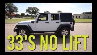 Download Jeep JKU Wrangler: No Lift / 33″ Tires Video