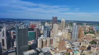 Download Downtown Pittsburgh Drone Video | Phantom 4 HD Drone Footage Video