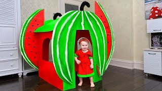 Download Kids playing with Magic Watermelon Playhouse Video