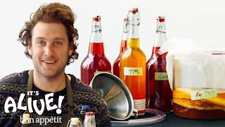 Download How to Brew Your Own Kombucha with Brad | It's Alive | Bon Appetit Video
