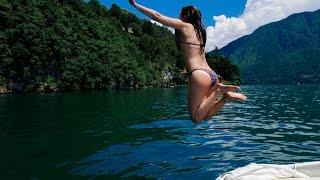 Download Русские в Европе #12. Озеро Комо. Италия. Купаемся Голыми Video