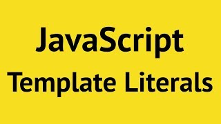 Download JavaScript Template Literals Video