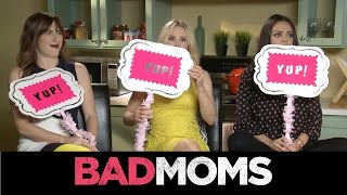 Download BAD MOMS Cast Plays Never Have I Ever! Sit Down w/ The Stars & Matthew Hoffman! - Regal Cinemas Video