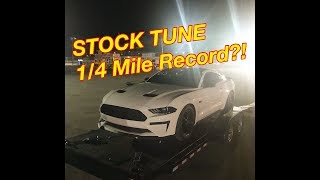 Download Quickest STOCK TUNE 2018 Mustang to date??!!! Video