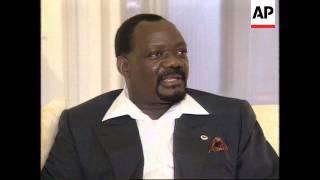 Download SOUTH AFRICA: ANGOLAN REBEL LEADER JONAS SAVIMBI VISIT Video