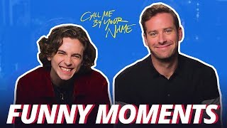 Download Call Me by Your Name Bloopers Funny Moments - Armie & Timothée Video
