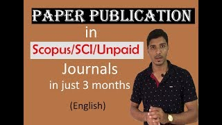Download Research Paper Publication in Refereed/Unpaid /Scopus Indexed Journals in Minimum Time Duration Video