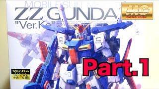 Download 【機動戦士ガンダムZZ Part.1 】MG 1/100 ダブルゼータガンダム Ver.Ka ヲタファのガンプラレビュー/ MG 1/100 ZZ Gundam Ver. Ka Video