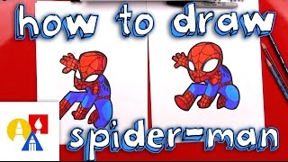 Download How To Draw Cartoon Spider-Man Video
