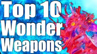 Download TOP 10 WONDER WEAPONS OF ALL TIME. (Call of Duty Zombies - Black Ops 3, 2 1 & WaW) Video