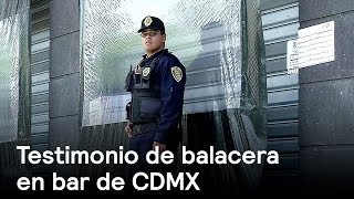 Download Testimonio de balacera en bar de CDMX - Inseguridad - En Punto con Denise Maerker Video