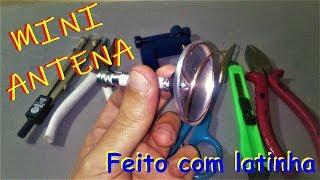 Download MINI ANTENA DIGITAL: Feita com latinha Video