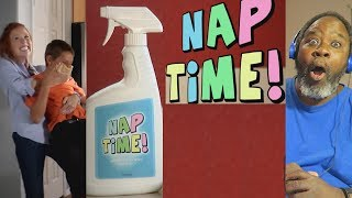 Download Dad Reacts to Nap Time!($1 you'll laugh in the first 37 secs) Video