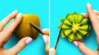 Download 30 AWESOME HACKS FOR FRUITS AND VEGETABLES Video
