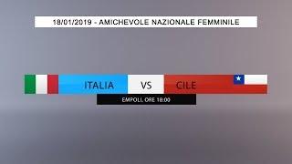Download Amichevole, Nazionale Femminile: Italia vs Cile (Live) - 18:00 Video