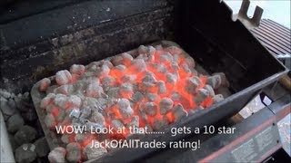 Download How to get amazing red hot coals for any barbecue - Coal starter review Video