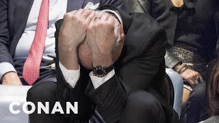 Download John Kelly Looked Uncomfortable During Trump's UN Speech - CONAN on TBS Video