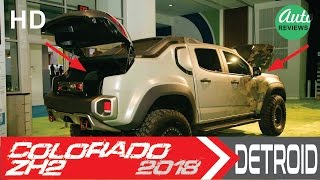 Download [WOW...] 2018 The Chevrolet Colorado ZH2 [MILITARY VEHICLES WITH FUEL CELLS] Video