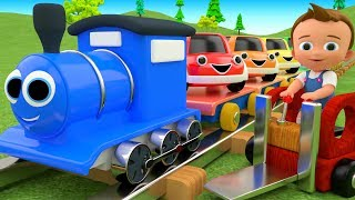 Download Colors for Children to Learn with Toy Cars Train Transport Toys 3D Kids Little Baby Educational Video