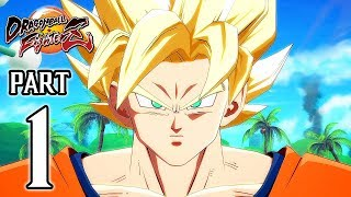 Download DRAGON BALL FighterZ Walkthrough PART 1 (PS4 Pro) No Commentary @ 1080p (60ᶠᵖˢ) HD ✔ Video