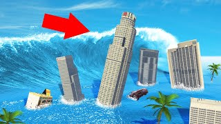 Download SURVIVE The TSUNAMI In GTA 5! (Mods) Video